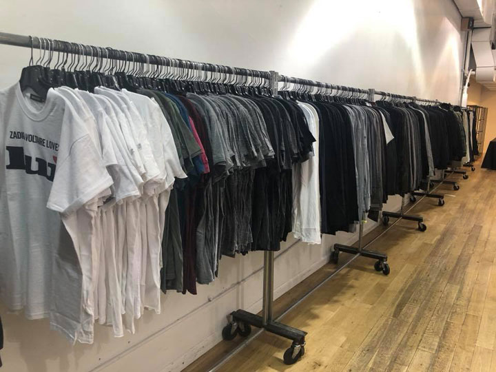 Pics from Inside the Zadig & Voltaire Sample Sale