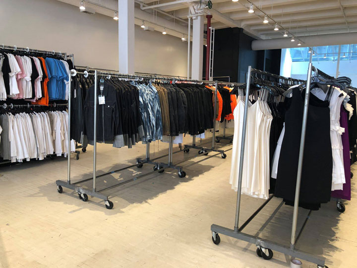 Pics from Inside the Helmut Lang Sample Sale