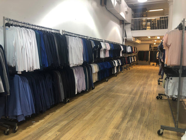 Pics from Inside the Outdoor Voices Sample Sale