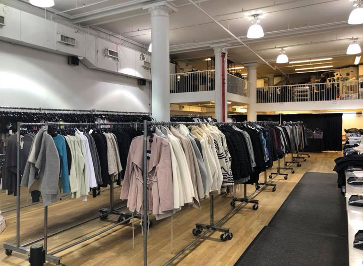 Pics from Inside the Equinox Sample Sale