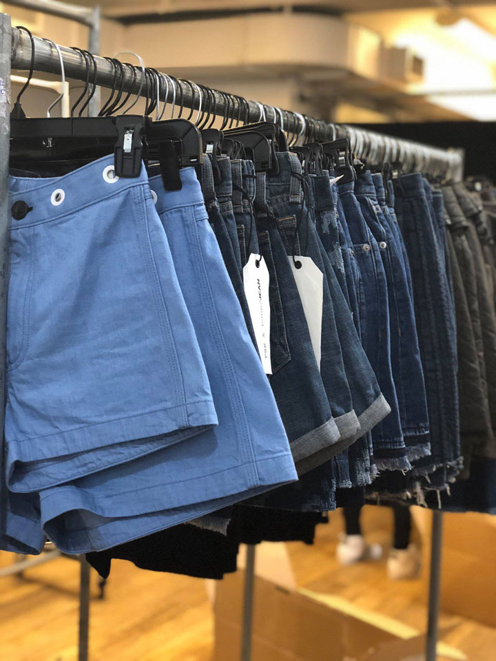 Rag & Bone Sample Sale Denim