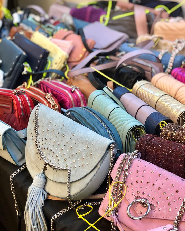 Rebecca Minkoff Sample Sale Handbags