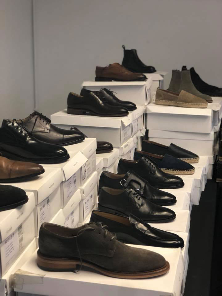 Reiss London Sample Sale Footwear