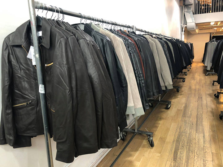 Pics from Inside the Reiss London Sample Sale