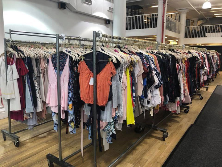 Rent the Runway Sample Sale Apparel