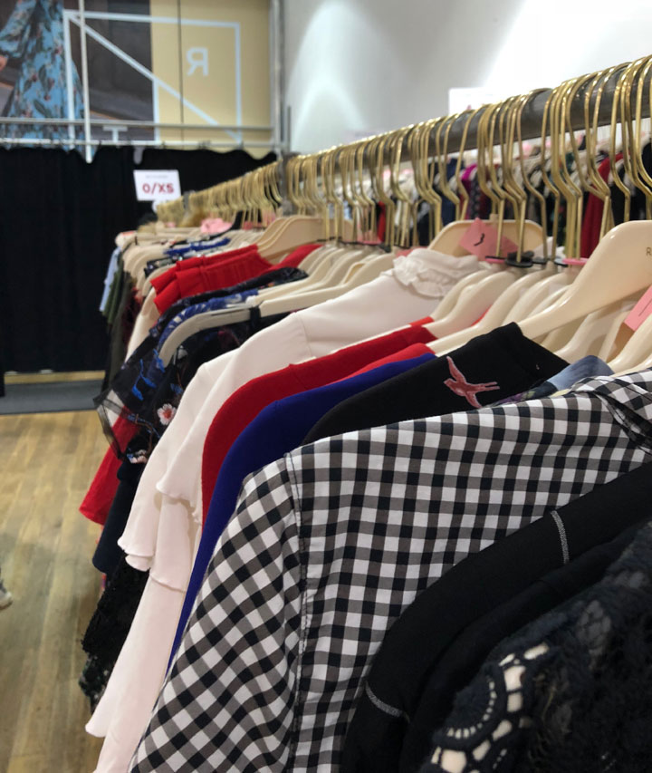 Rent the Runway Sample Sale Shirts