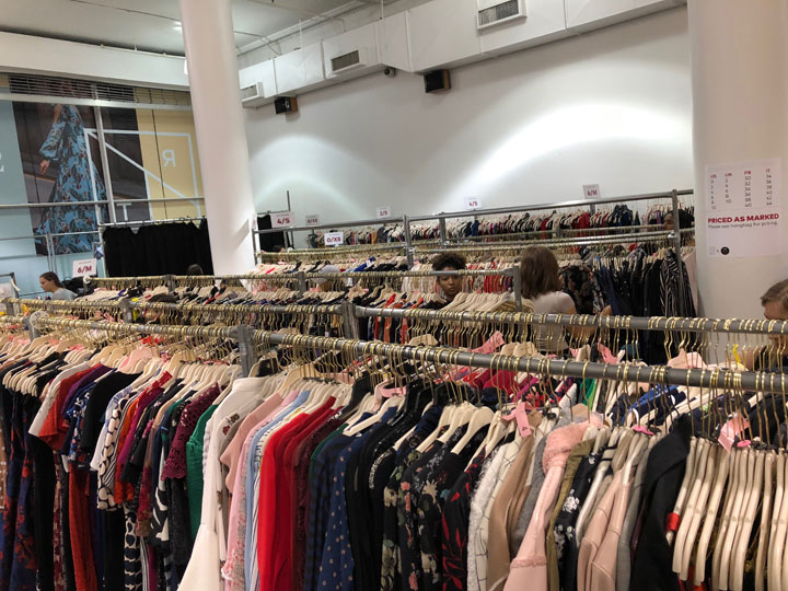 Rent the Runway Sample Sale Review