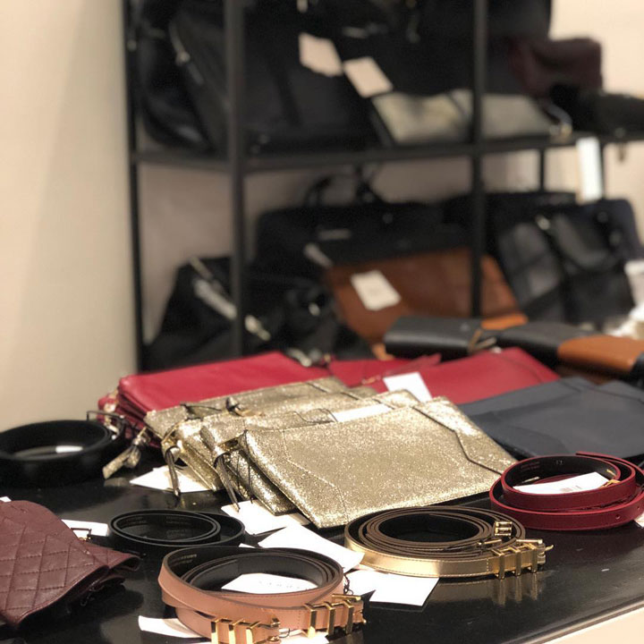 Sandro Sample Sale Accessories