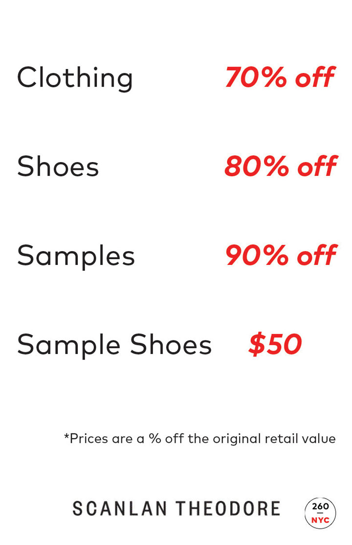Scanlan Theodore Sample Sale Price List