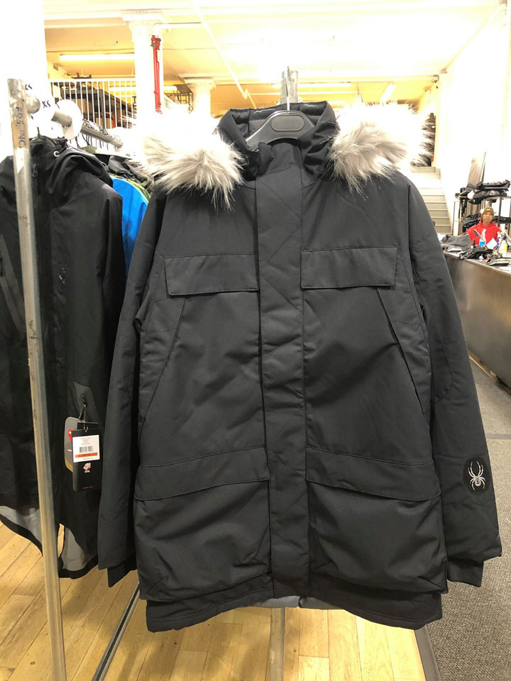 Spyder Warehouse Sale Jacket