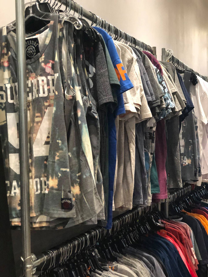 Superdry Sample Sale Tees