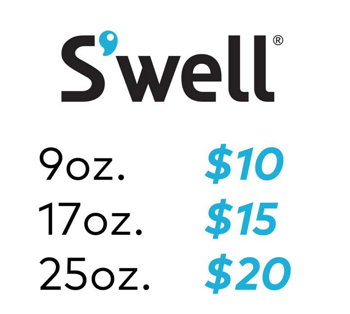 S'well Sample Sale Price List