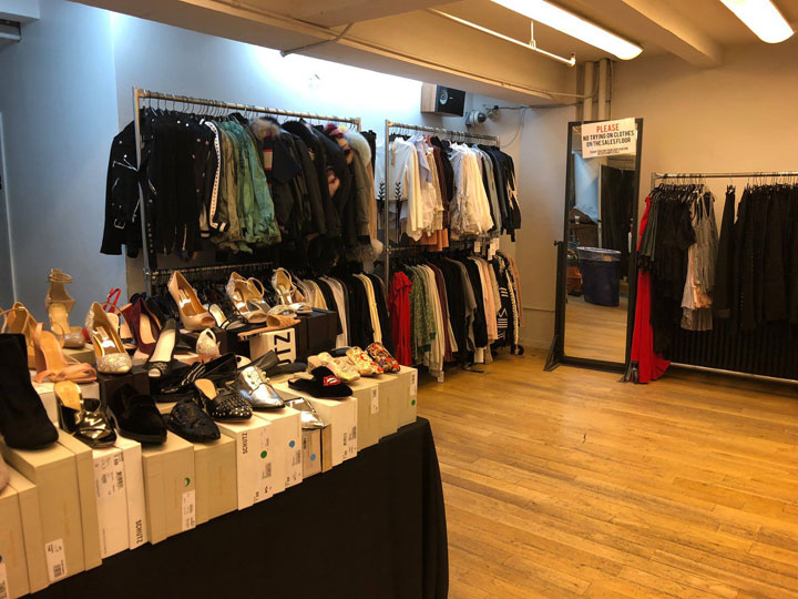 The Shoe Box Spring 2018 Sample Sale Apparel