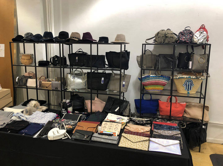 The Shoe Box Spring 2018 Sample Sale Handbags