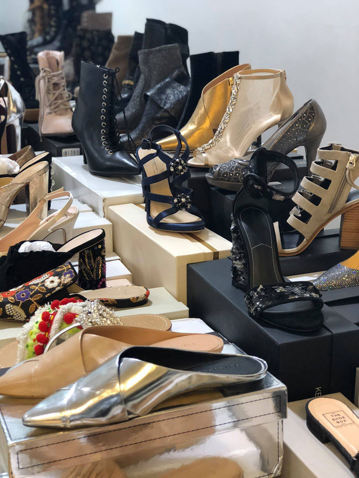 The Shoe Box Spring 2018 Sample Sale Shoes