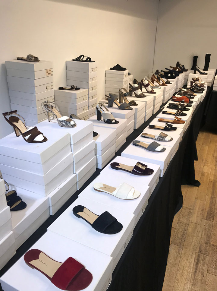 Theory Women's Sample Sale Footwear