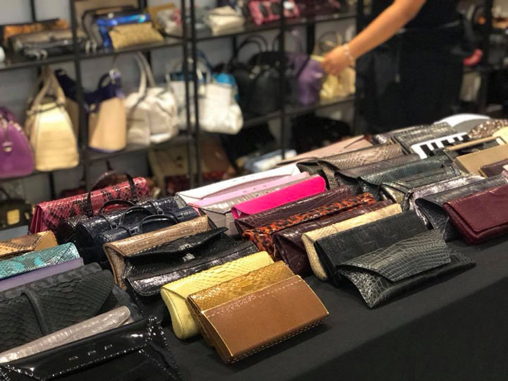 VBH Sample Sale Wallets
