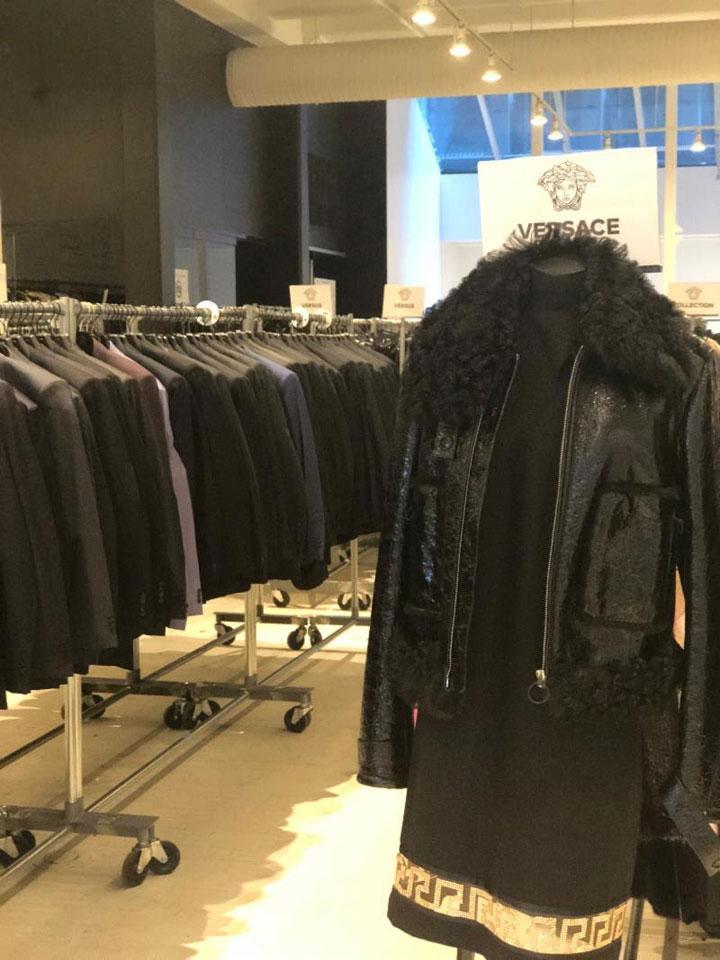 Versace Sample Sale Apparel