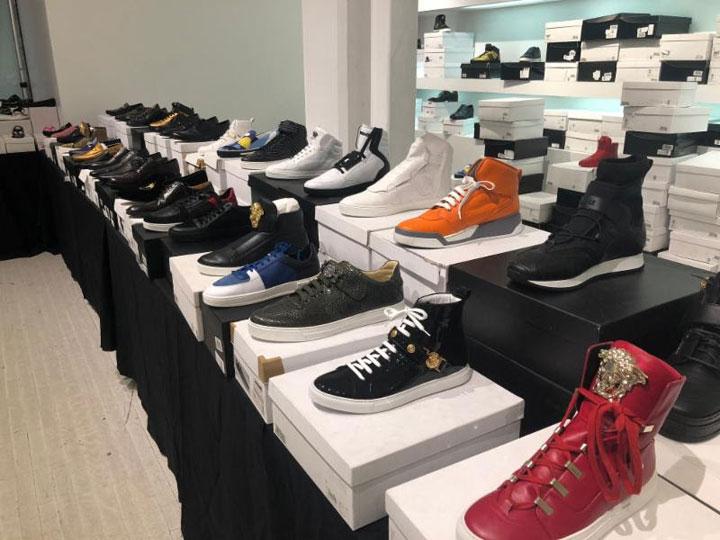 Versace Sample Sale Footwear