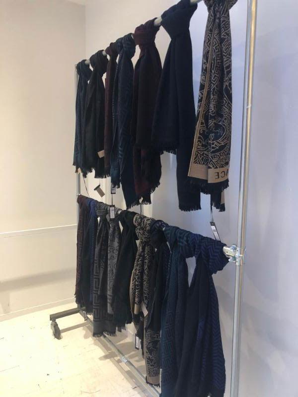 Versace Sample Sale Scarves