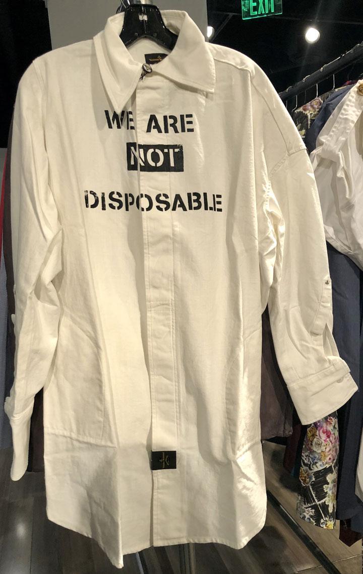 Vivienne Westwood Sample Sale Shirt