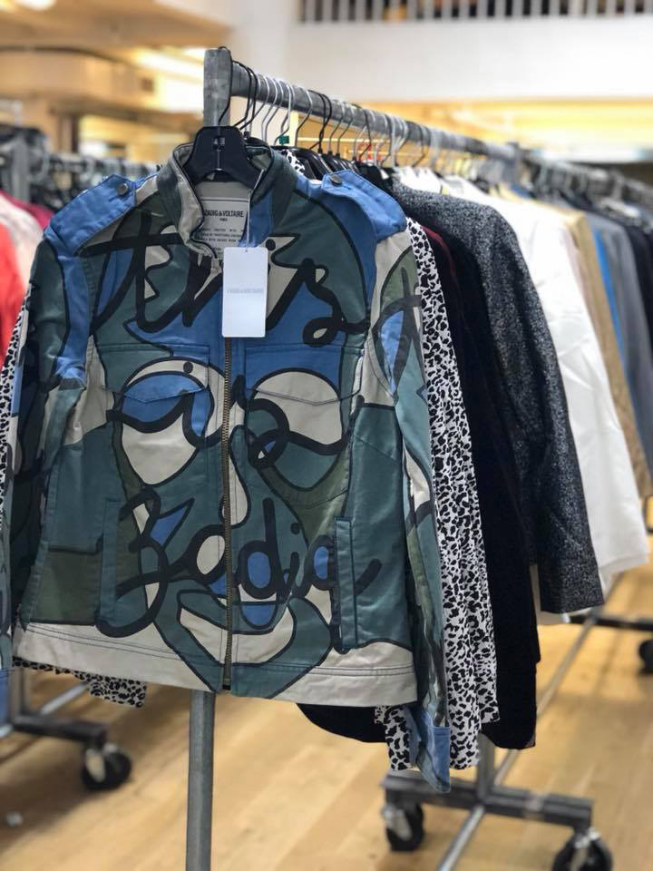 Zadig & Voltaire Sample Sale Jackets