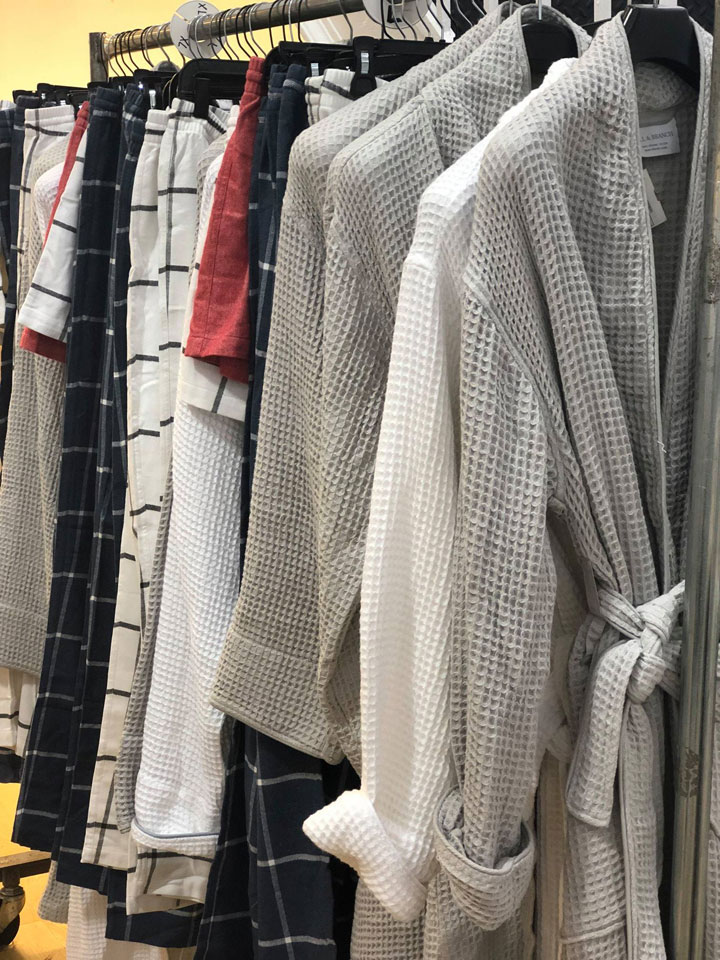 Boll & Branch Sample Sale Robes