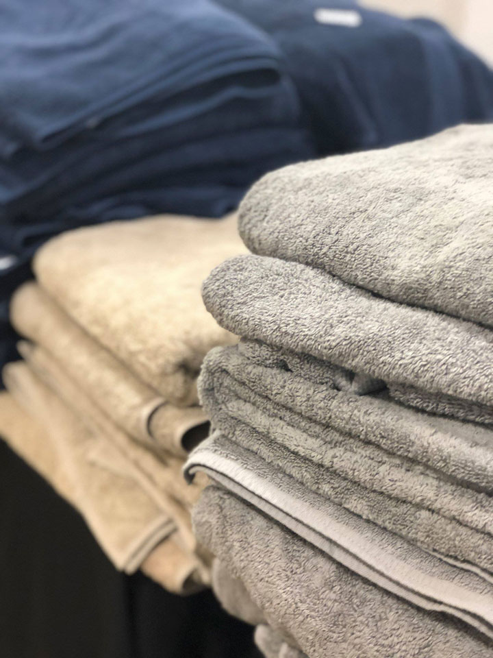 Boll & Branch Sample Sale Towels