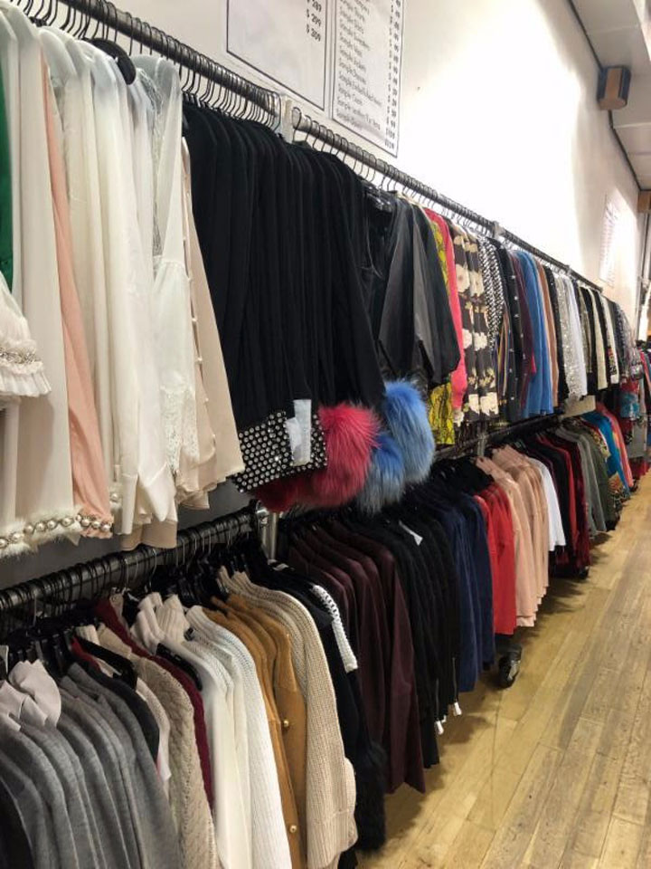 Pics from Inside the Alice + Olivia Sample Sale