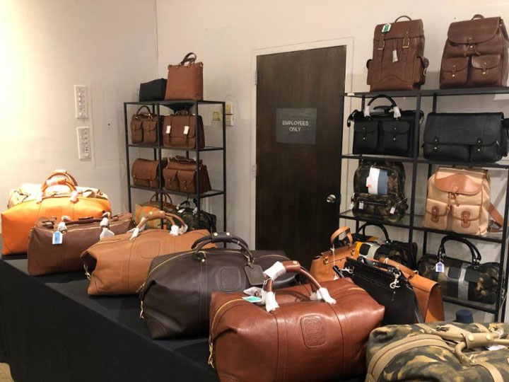 Pics from Inside the Eidos + Isaia + Ghurka Sample Sale