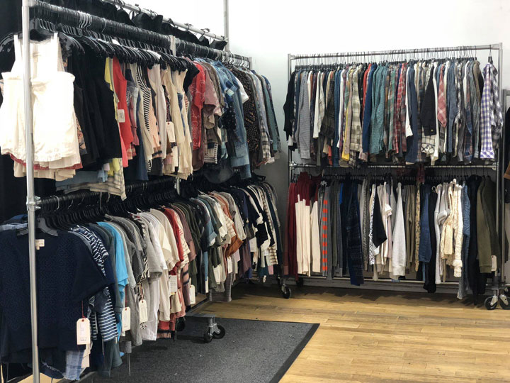 Pics from Inside the Equipment, Joie, Current/Elliott Sample Sale