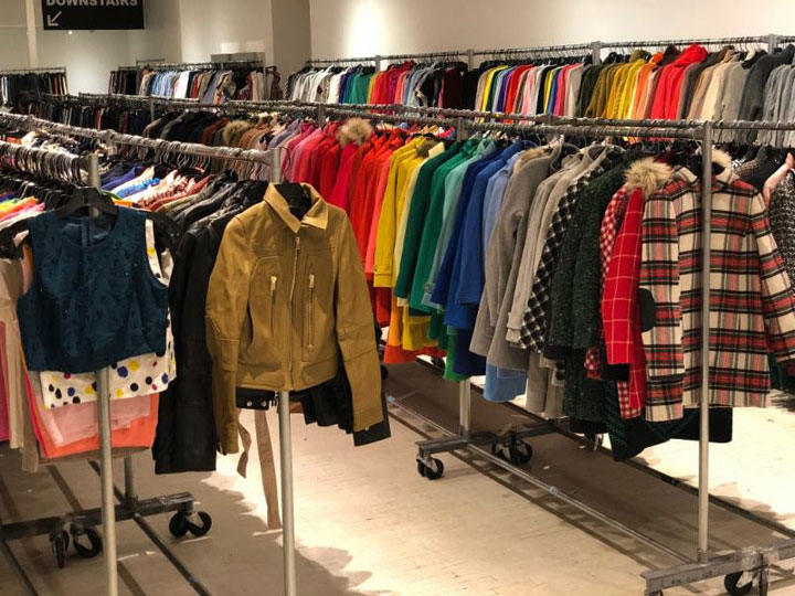Pics from Inside the J.Crew + Madewell Sample Sale