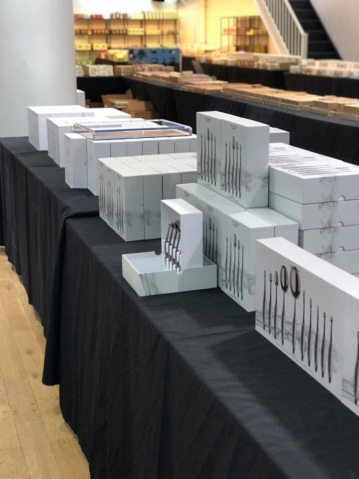 Pics from Inside the Stila, Tocca, Artis Brush, & Dr. Jart+ Sample Sale