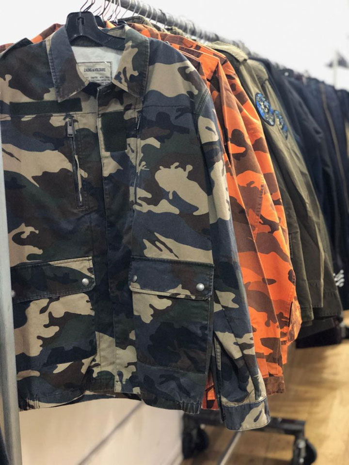 Zadig & Voltaire Sample Sale Jackets