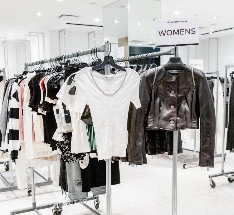 Alexander Wang Sample Sale in Images