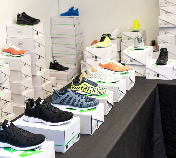 Athletic Propulsion Labs – APL Sample Sale in Images