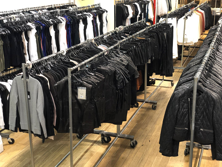 BLK DNM Sample Sale in Images