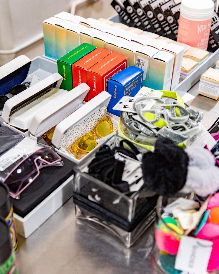 Bandier Sample Sale Accessories
