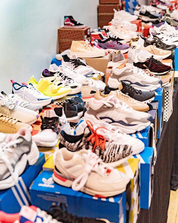 Bandier Sample Sale Footwear