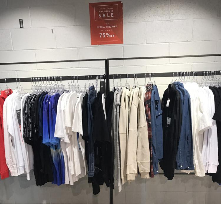 Barneys New York Warehouse Sale Apparel