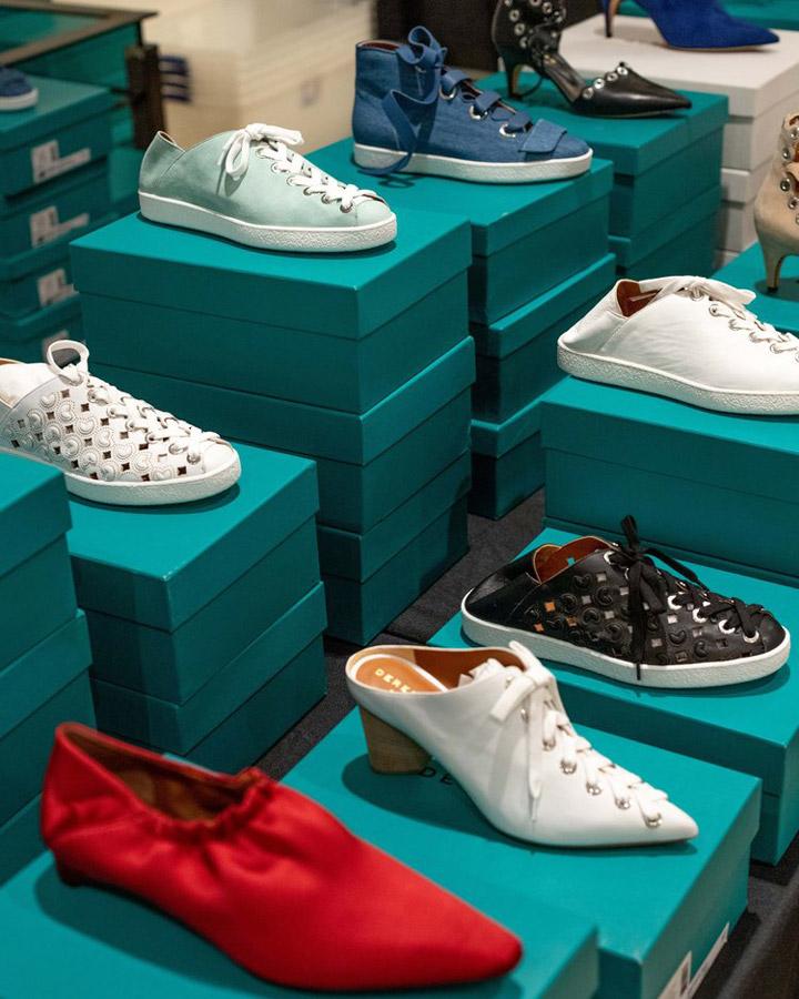Derek Lam & Derek Lam 10 Crosby Sample Sale in Images Footwear