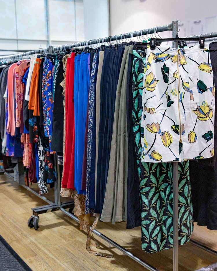 Diane von Furstenberg Sample Sale in Images