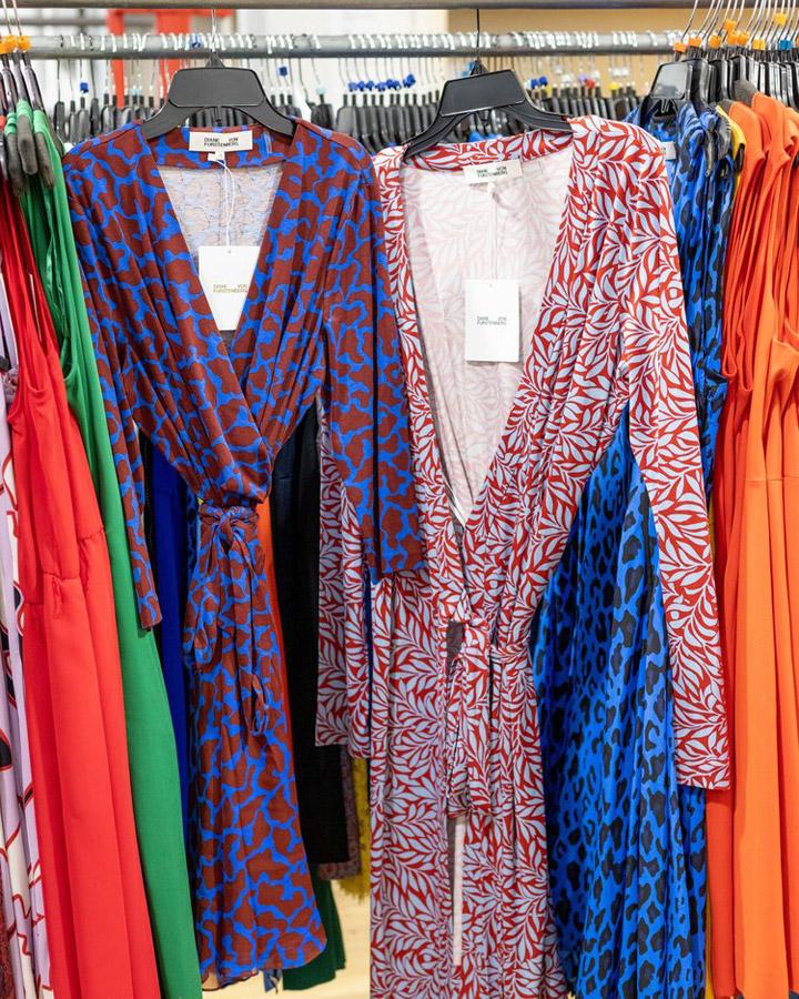 fbb3e25aac Diane von Furstenberg New York Sample Sale in Images
