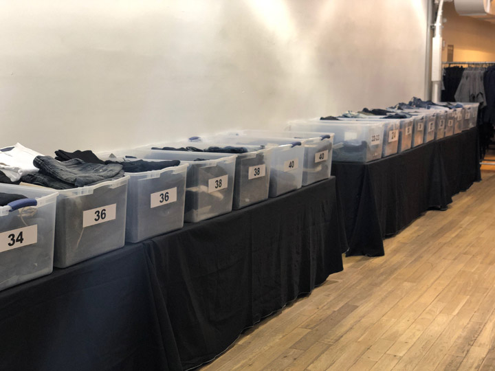 Pics from Inside the Diesel Sample Sale