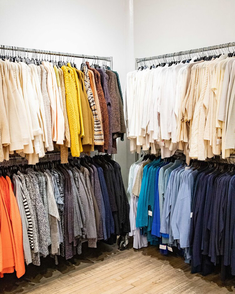 Eileen Fisher Sample Sale in Images