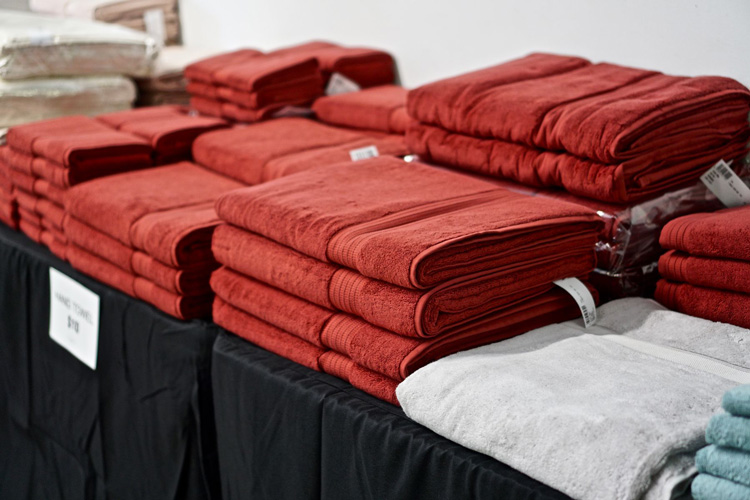 FRETTE Sample Sale in Images