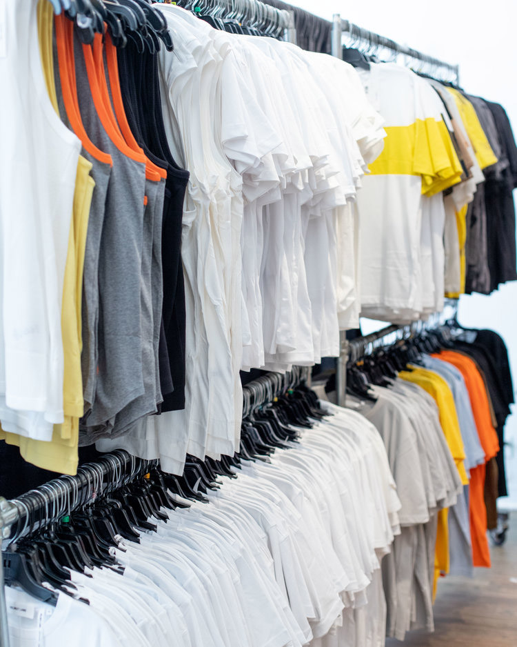 Helmut Lang Sample Sale in Images