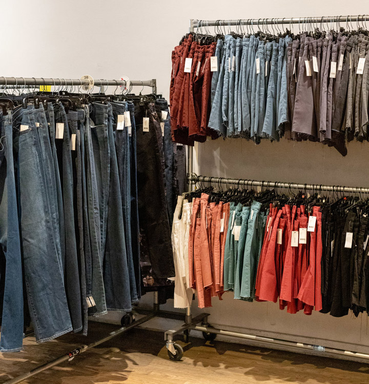 J Brand Sample Sale in Images