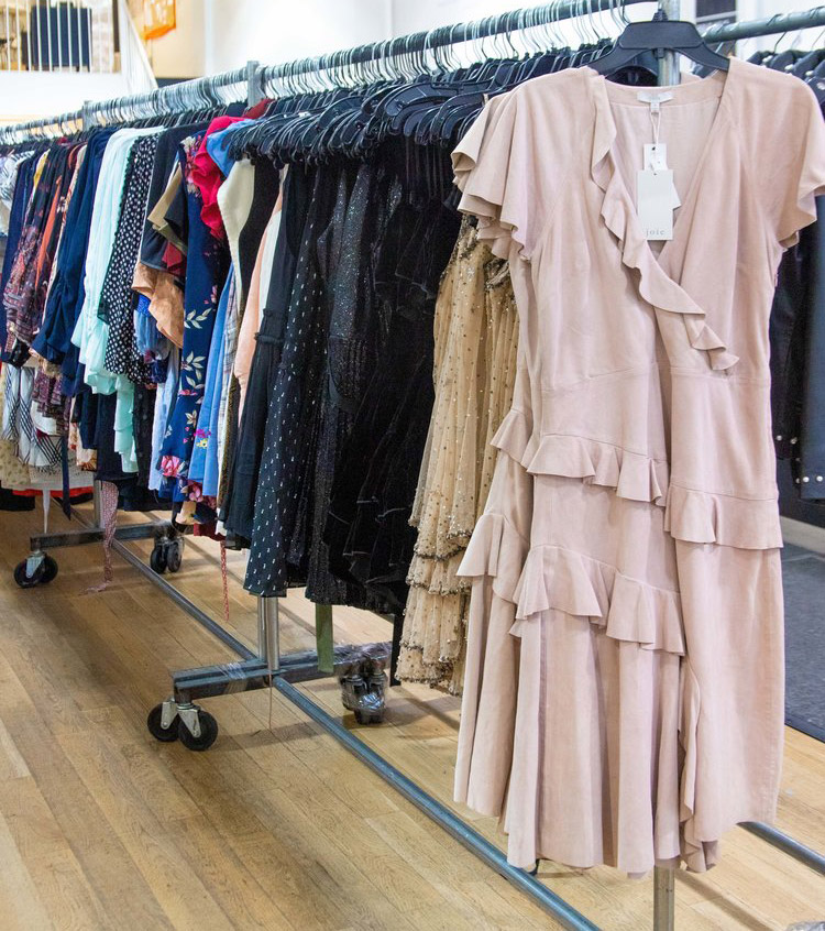 Joie, Equipment, & Current/Elliott Sample Sale in Images