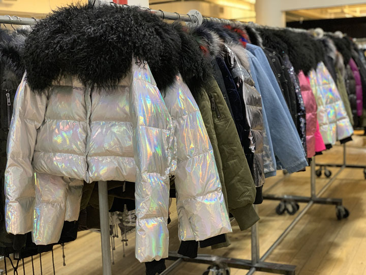 Jocelyn Fur Sample Sale in Images